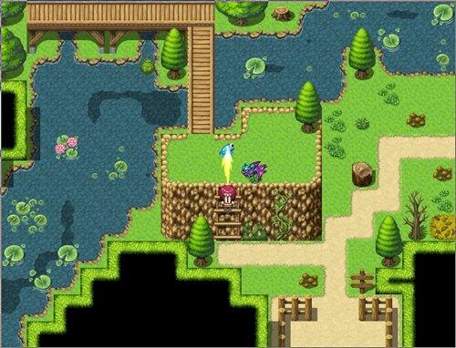 妹のために森へキノコをとりに行く話 Game Screen Shot1