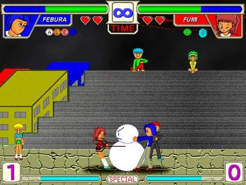 カレンダーレイブ Game Screen Shot