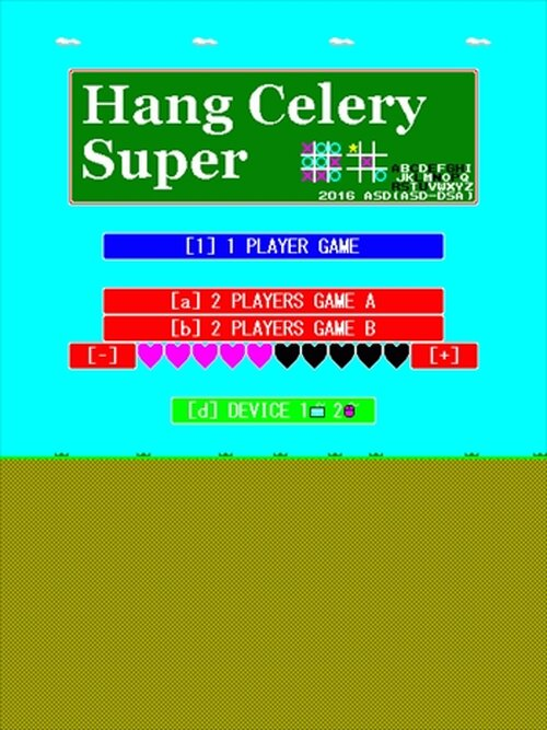 HangCelerySuper Game Screen Shot2