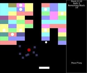 ProcessingBlockBreak Game Screen Shot3