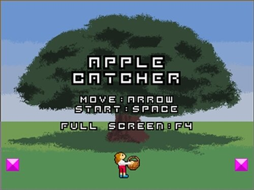 Apple Catcher Game Screen Shot2