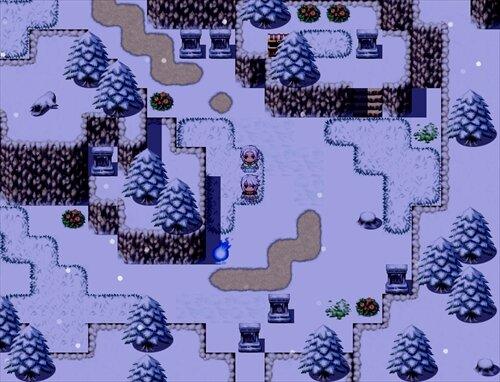 白の雪と古の魔女 Game Screen Shot1