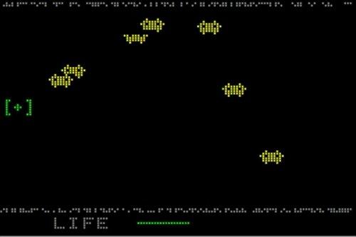 SOUNVADER Game Screen Shots