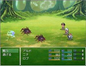 ニナと鍵守の勇者~疾風の忍者と魔物使い~ Game Screen Shot
