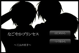 なごやかプリンセス~三人の王子~ Game Screen Shot2