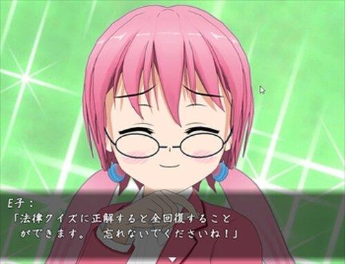 法律クイズなう~MV(ブラウザゲーム) Game Screen Shot2