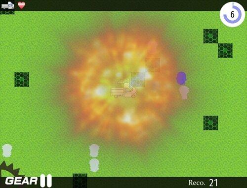 『天使はトラックで轢き潰す。』 Game Screen Shot1