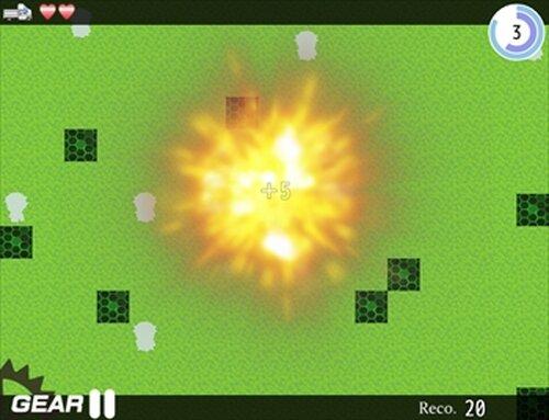 『天使はトラックで轢き潰す。』 Game Screen Shots