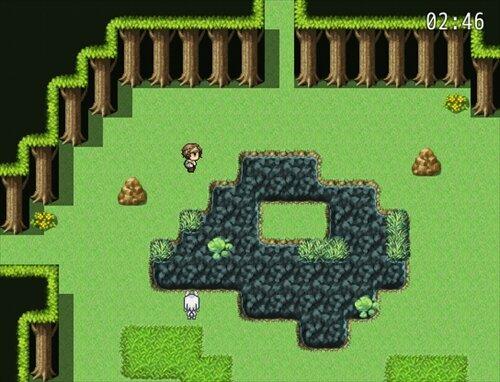 森のおおかみ Game Screen Shot1
