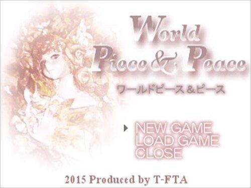 ワールドピース&ピース Game Screen Shot1