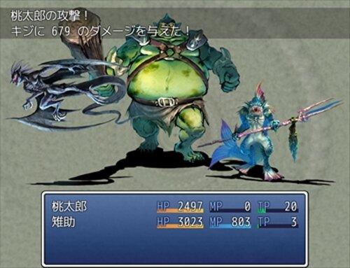 MOMO-TARO Game Screen Shots