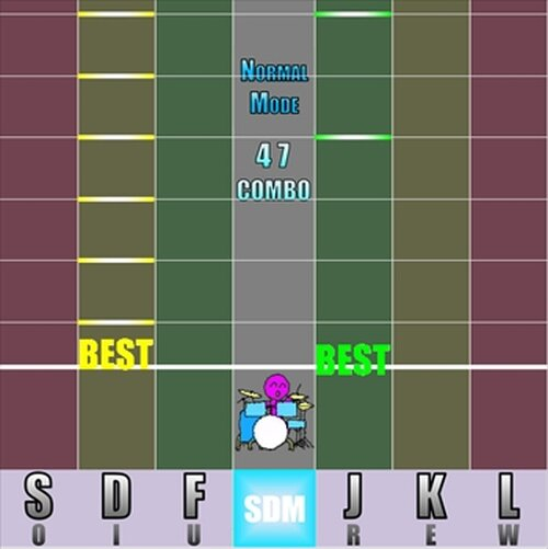 SuperDrumMaster Game Screen Shot3