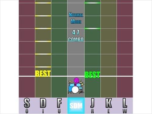 SuperDrumMaster Game Screen Shots