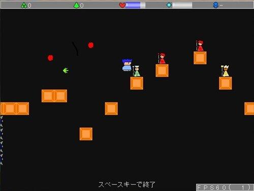 暇つぶしアクションゲーム Game Screen Shot