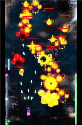 End of Star MCA(魔砲学園):UNITY Game Screen Shot2