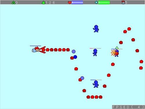 苦しみの魔王の逆襲 Game Screen Shot1