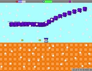 ラシーユのシューティングアクション2 Game Screen Shot