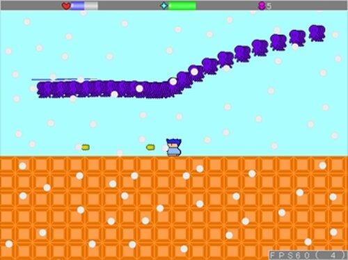 ラシーユのシューティングアクション2 Game Screen Shots