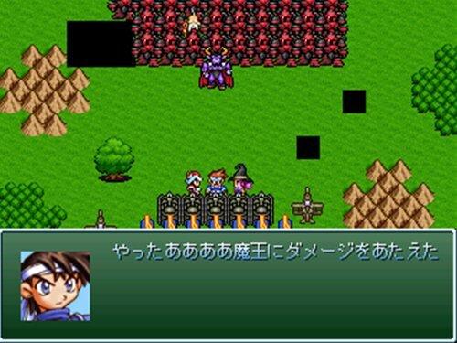 魔王さんをぬっ殺せ! Game Screen Shot1