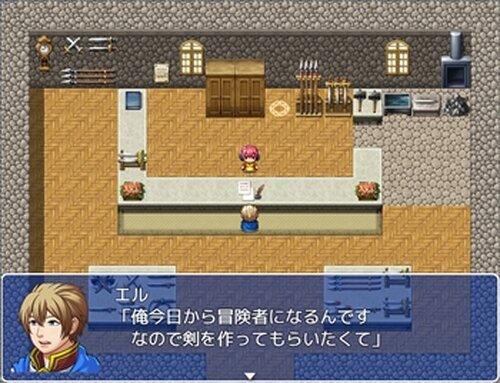 鍛冶屋のダンジョン Game Screen Shot2