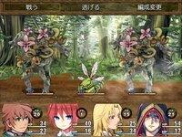 ハクスラダンジョンⅡのゲーム画面
