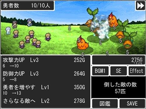 100人勇者 Game Screen Shot2