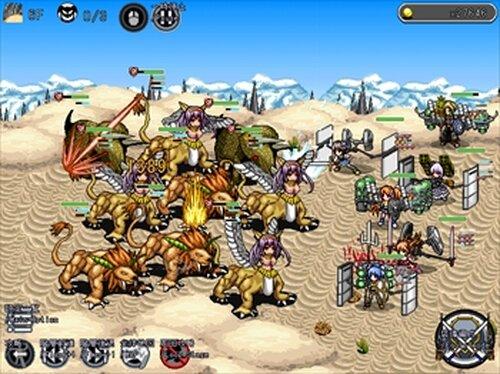 Rush Dungeons!β (とつげきダンジョン!β) Game Screen Shots