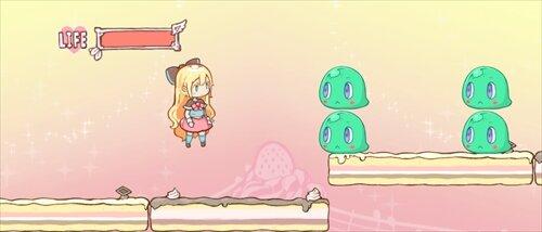 少女セピアと魔法の本 Game Screen Shot1