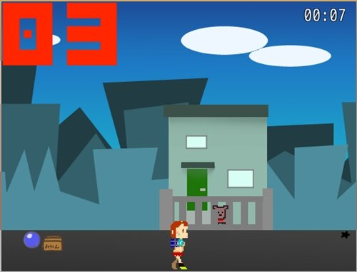 Tardy girL!! Game Screen Shot1