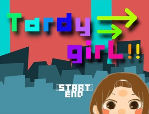 Tardy girL!! Game Screen Shot2