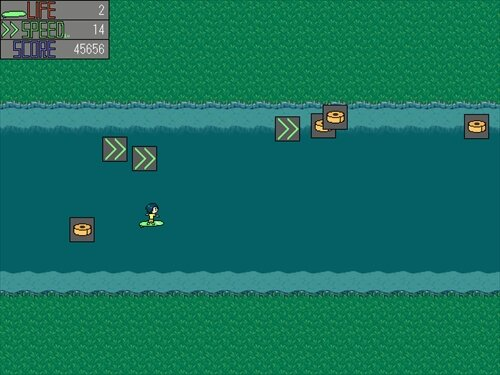 サーフィングフロー Game Screen Shot