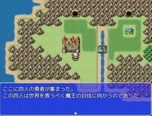 ワンマップクエスト Game Screen Shot