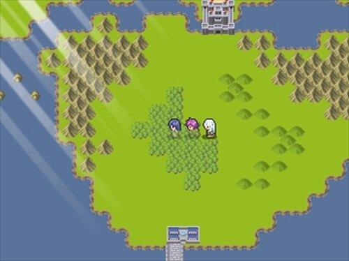 白騎士旅記[試作版] Game Screen Shot3