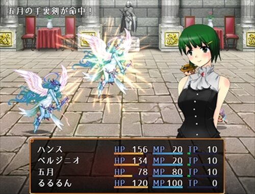 神殿騎士物語 Game Screen Shots