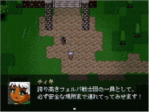 迷える猫と風詠みの羽衣 Game Screen Shot1