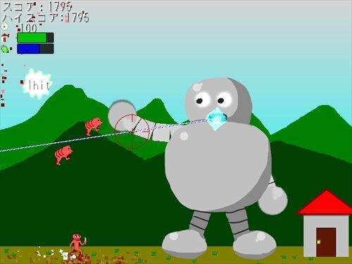 セキュリティロボ Game Screen Shot