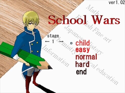 school wars Game Screen Shot2