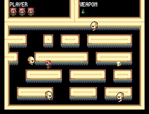 デンとメメのおばけ退治! Game Screen Shot1