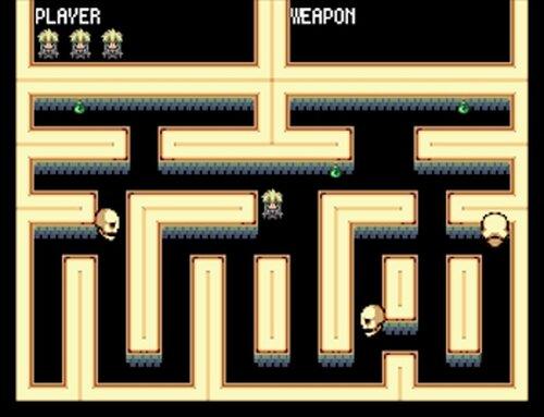 デンとメメのおばけ退治! Game Screen Shot3