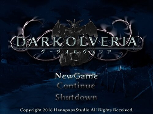 DARK OLVERIA Game Screen Shots
