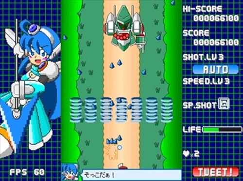 疾風戦記フォースギア外伝・サファイアスピリット! Game Screen Shot4