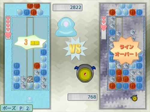 スイカばらまきパズル Game Screen Shot2