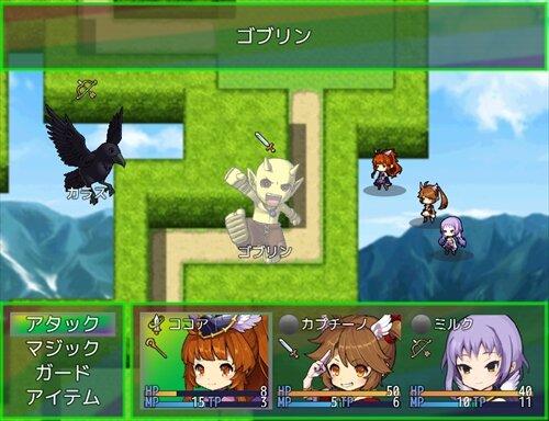 小さな不思議の迷宮 Game Screen Shot