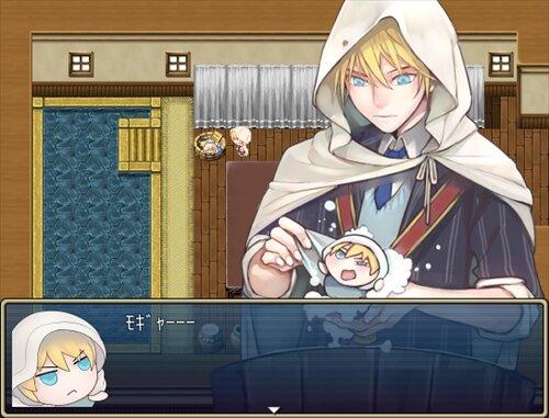 もちんばあつめ Game Screen Shot