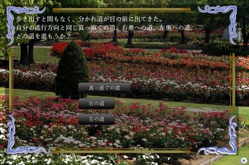 薔薇の箱庭 Game Screen Shot1