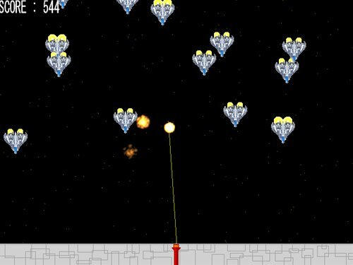 SPACE WAR Game Screen Shot1