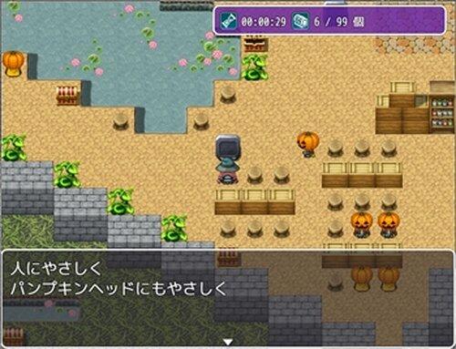 パンプキンヘッドとお菓子の迷宮 Game Screen Shot3