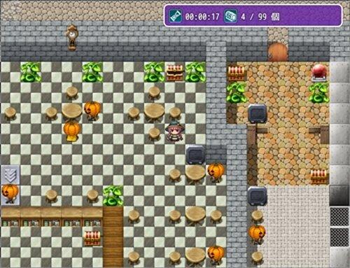 パンプキンヘッドとお菓子の迷宮 Game Screen Shots