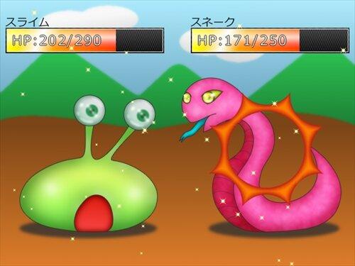 簡易戦闘サンプルZ Game Screen Shot1