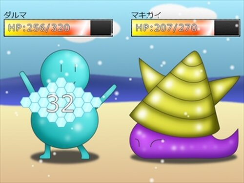簡易戦闘サンプルZ Game Screen Shot4